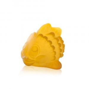Hevea 100% natuurlijk badspeeltje Polly de vis