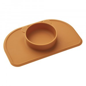 Liewood Silicone Placemat Polly Mosterd