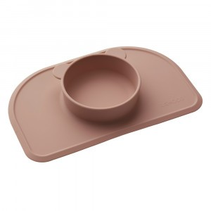 Liewood Silicone Placemat Polly Donkerroze