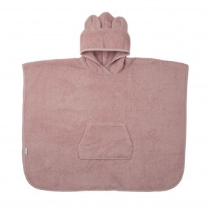 Liewood Poncho Mr. Bear Roze