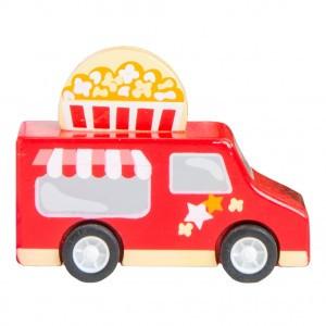 Le Toy Van Sweets & Treats Pull Backs Popcorn wagen