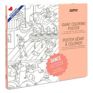 OMY Kleur Poster - Dance