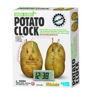 4M Kidzlabs Bouwpakket Aardappelklok