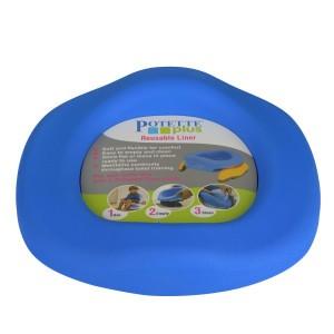 PotettePlus Silicone Inlegger Blauw