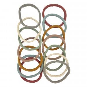 Papoose Toys Earth Vilten Ringen (grote set/28 stuks)