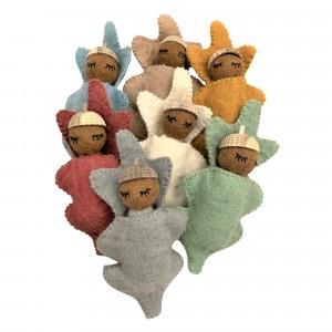 Papoose Toys Eikel Baby's Earth (7 stuks)