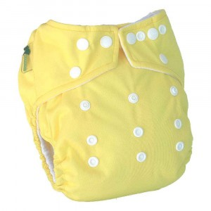 Little Lamb One Size Nappy Primrose