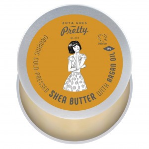 Zoya Goes Pretty - Shea Butter met Argan Olie (90 g)