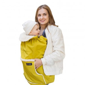 Isara Winter Draagcover Mellow Yellow (met kapje)