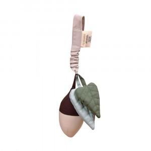 Filibabba Activiteitenspeeltje Acorn Bell Dark Mint