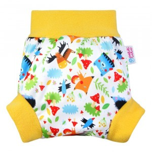 Petit Lulu Pull-Up Overbroekje Medium Crazy Animals