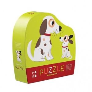 Crocodile Creek puzzel mini puppy liefde (12 stukken)