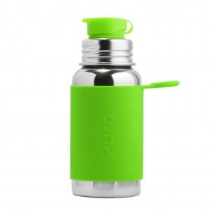 Pura Sportfles 550ml met Sleeve Groen