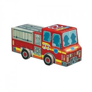 Crocodile Creek puzzel brandweerwagen (48 stukken)