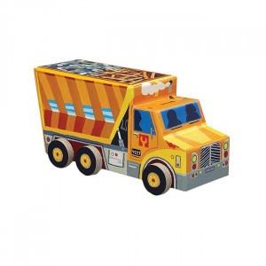 Crocodile Creek puzzel vrachtwagen (48 stukken)