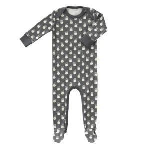Fresk Pyjama met voetjes Ananas Antraciet