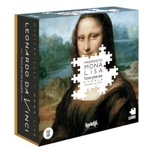 Londji Puzzel 'Mona Lisa' (1000 stuks)
