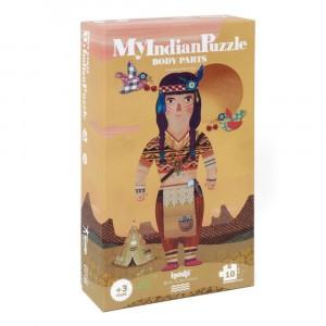 Londji Puzzel 'My Indian'