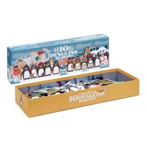 Londji Puzzel '10 Pinguïns'