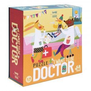 Londji Puzzel 'I want to be... Doctor'