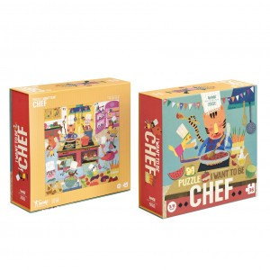 Londji Puzzel 'I want to be... Chef'