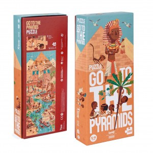 Londji Puzzel 'Go to the Pyramids'