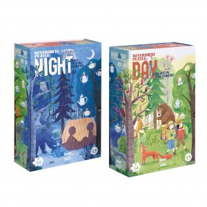 Londji Puzzel 'Night & Day in the Forest'