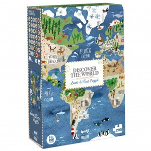 Londji Puzzel 'Discover The World'