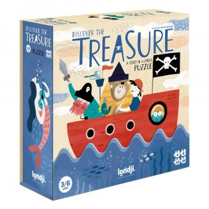 Londji Puzzel 'Discover The Treasure'