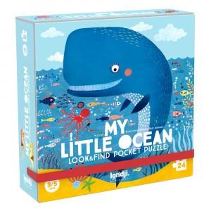 Londji Zoek en Vind Pocket Puzzel 'My little Ocean'
