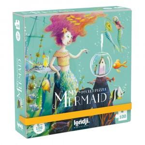 Londji Pocket Puzzel 'My Mermaid'