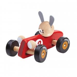 PlanToys Konijn Racewagen