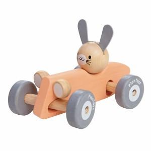 PlanToys Konijn Racewagen Pastel