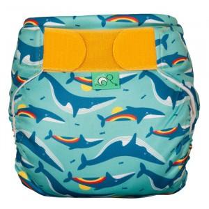 Totsbots Zwemluier Rainbow Whale Maat 1 (4,5-9kg)