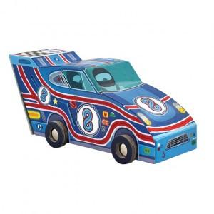 Crocodile Creek puzzel Race auto (48 stukken)