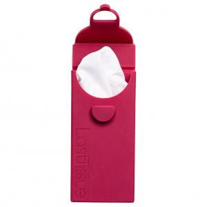 LastTissue Set van 6 Wasbare zakdoeken - Red