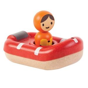 PlanToys Badspeelgoed Reddingsboot
