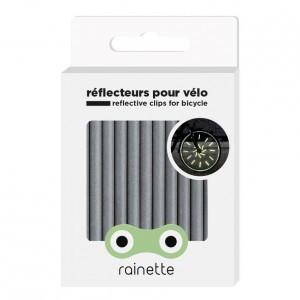 Rainette Wiel Reflectoren - Zilver