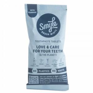 Smyle Refill Tandpasta Tabletten met fluor (125 stuks)
