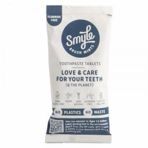 Smyle Refill Tandpasta Tabletten zonder fluor (125 stuks)