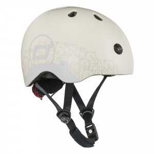 Scoot and Ride Helm XS - Reflective Ash