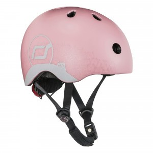 Scoot and Ride Helm XS - Reflective Rose