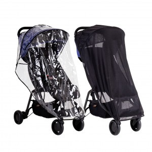 Mountain Buggy Regen- + zonnehoes 'Nano All Weather Cover Set'