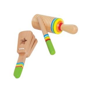 Hape Muziek Regenboog Rythm set
