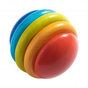 Haba Opsteekspel Regenboogbal