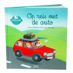Clavis 'Willewete' Informatief Prentenboek Op reis met de auto