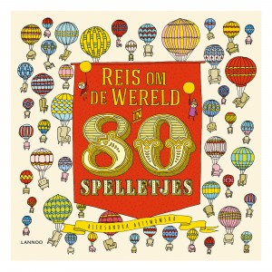 Lannoo Boek Reis om de wereld in 80 spelletjes