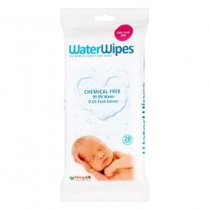 WaterWipes Babydoekjes Reispak (28 doekjes)
