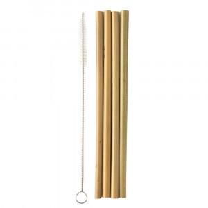 Humble Brush Bamboe Rietjes (4 stuks) met borstel
