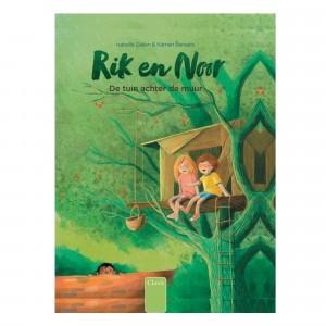 """Clavis Samenleesboek Rik en Noor """"De tuin achter de muur"""""""